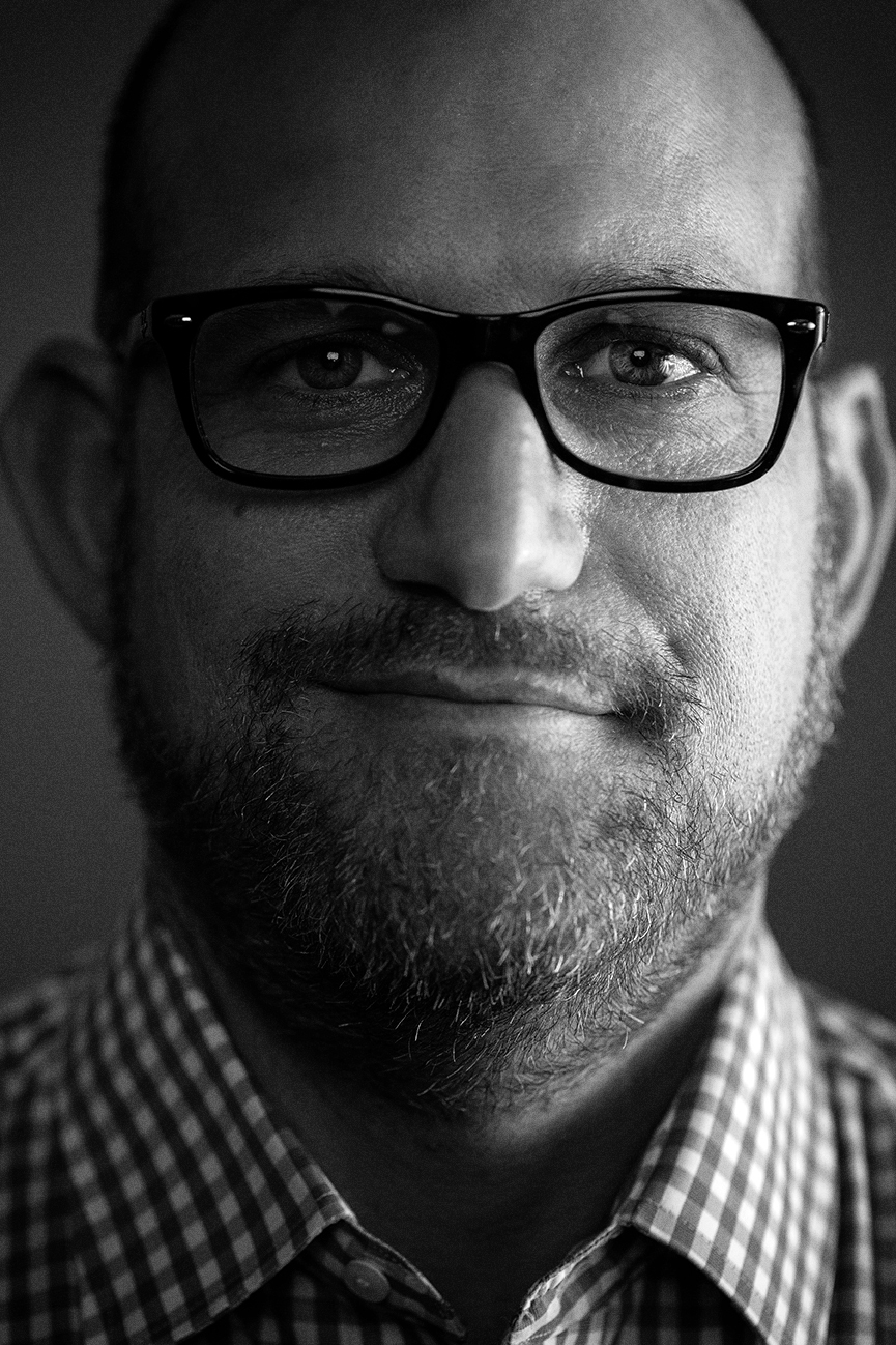 Doug Melnick photographed in Austin, Texas, by editorial and portrait photographer, Josh Huskin.