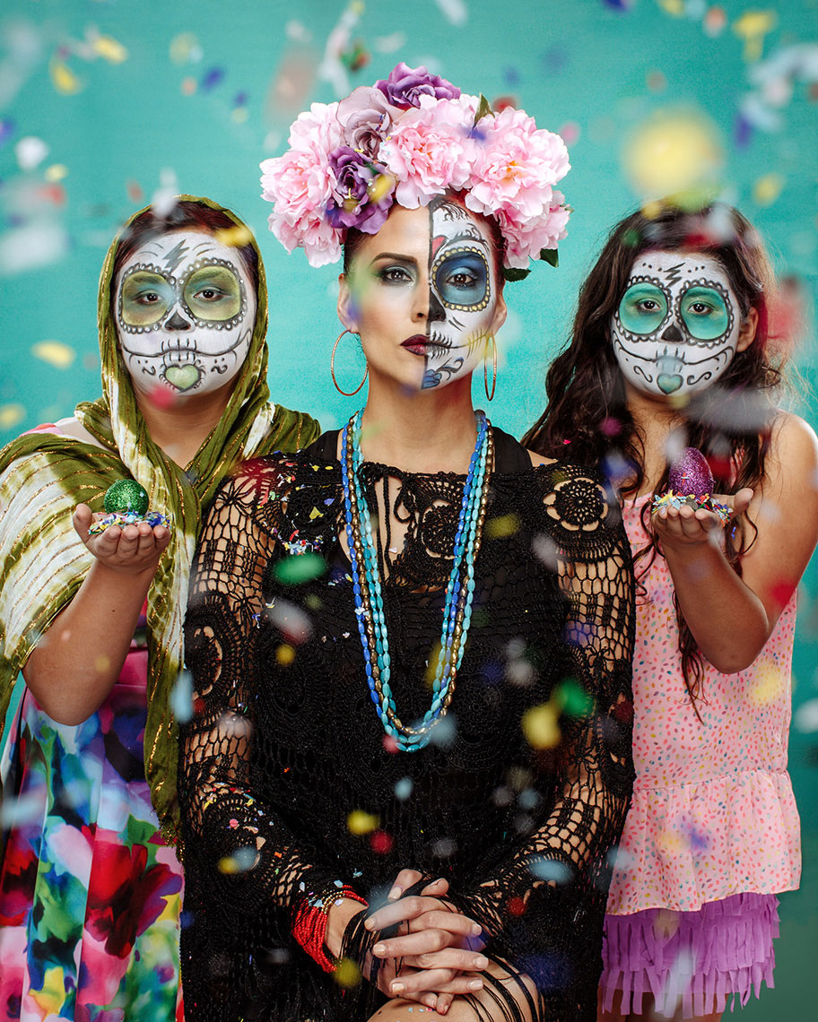 Fiesta Folks 2015, Personal project by editorial photographer Josh Huskin.