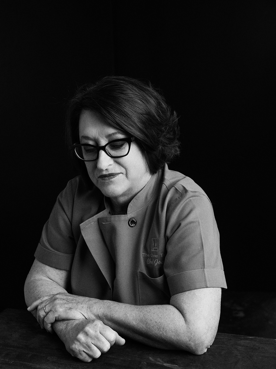 Joan Cheever photographed at Eleven Hundred Collective Studio in San Antonio, Texas, by editorial and portrait photographer Josh Huskin.