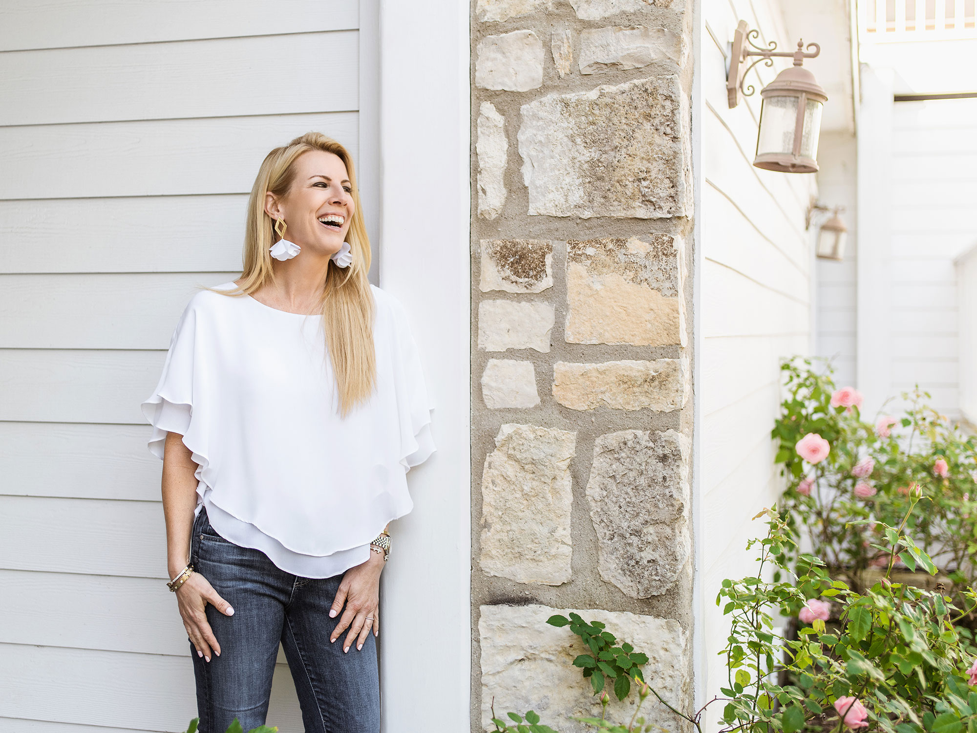 Amy Spears photographed by lifestyle portrait photographer Josh Huskin in Boerne, TX.
