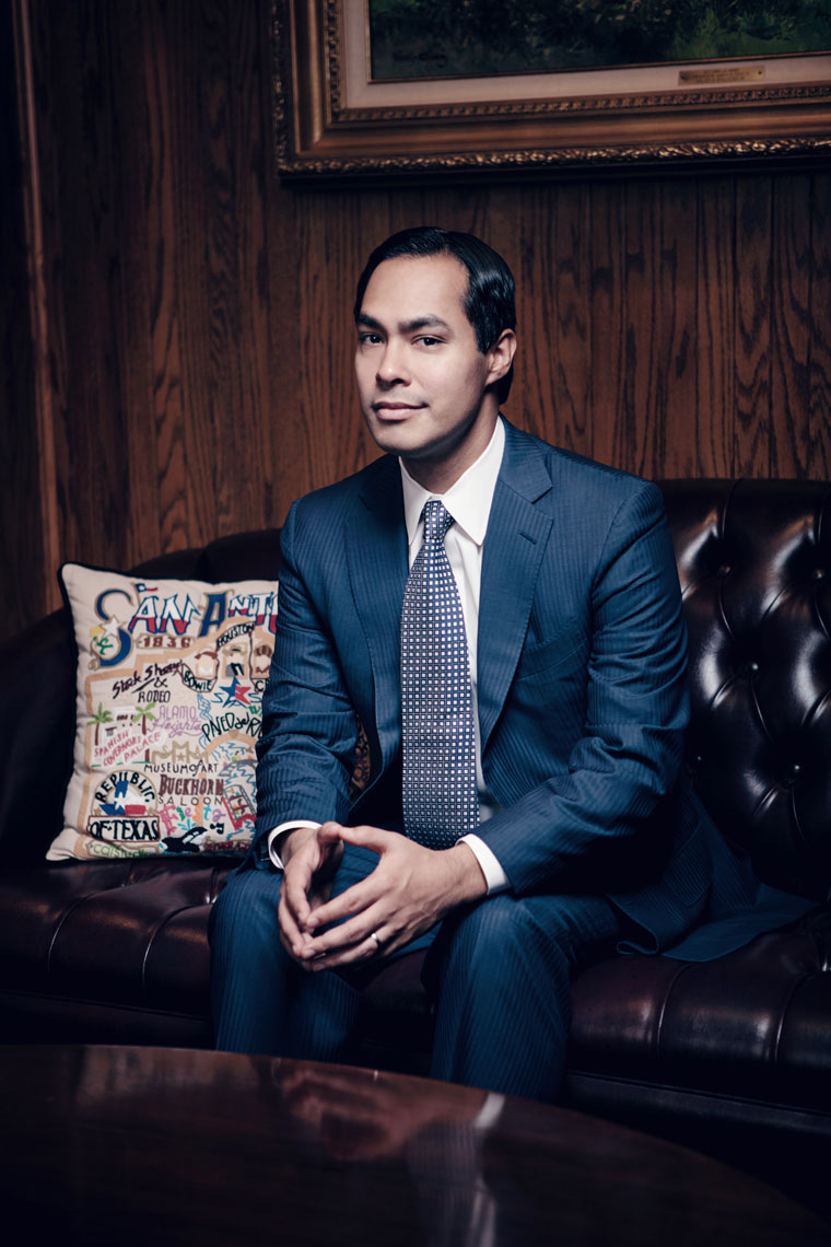 Portrait of former Mayor of San Antonio, Julian Castro, photographed by editorial and portrait photographer Josh Huskin.