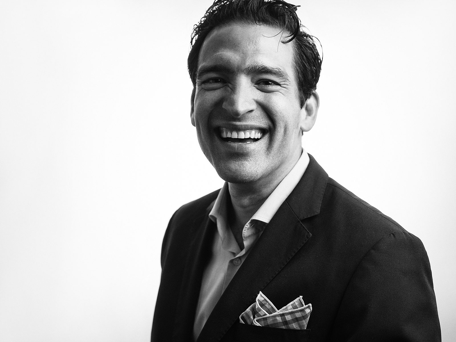 Omar Gonzalez photographed at Eleven Hundred Collective Studio in downtown San Antonio, Texas, by editorial and commercial photographer Josh Huskin.