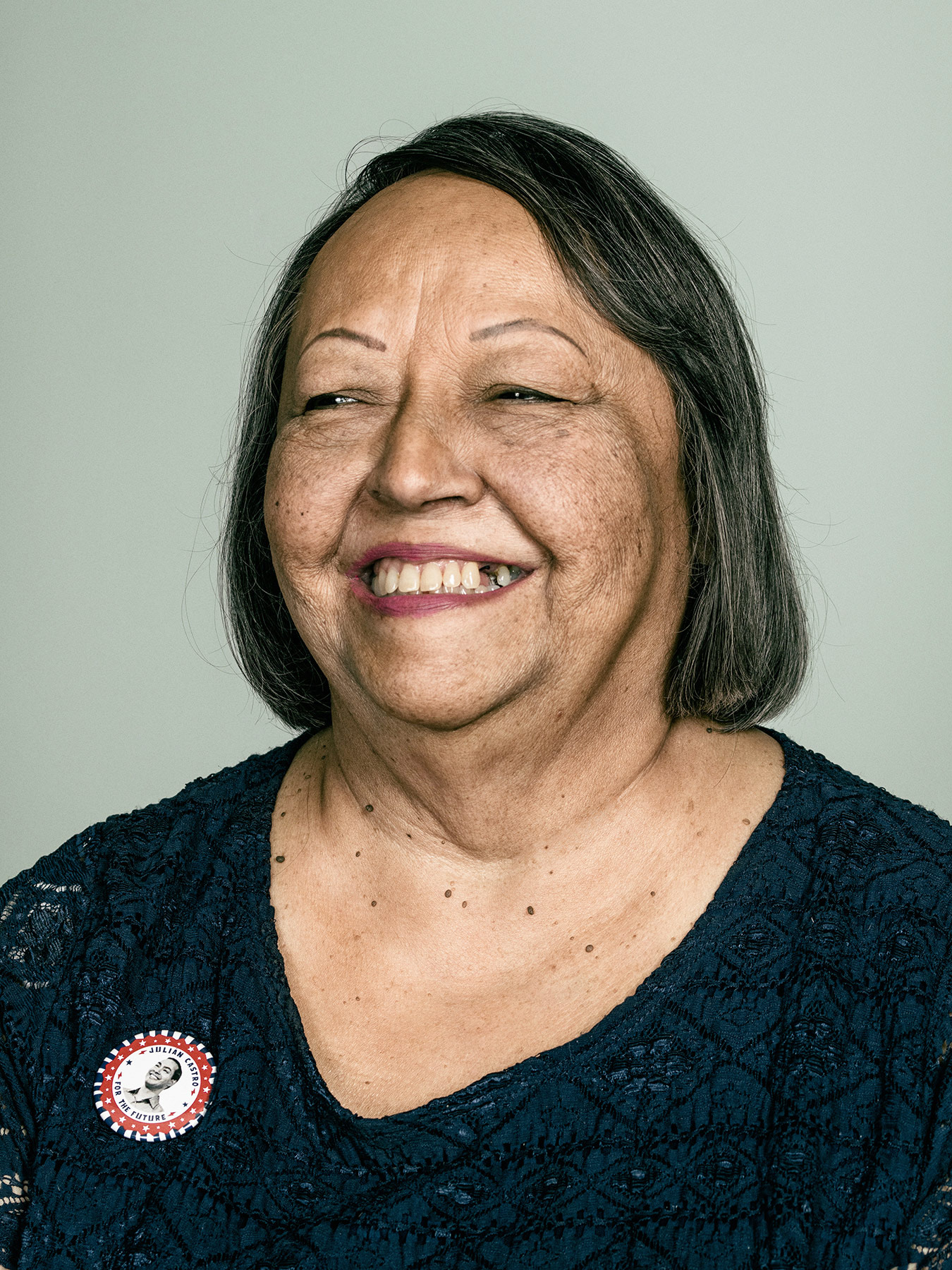 Rosie Castro, mother of Joaquin and Julian Castro, photographed in San Antonio, TX by editorial photographer Josh Huskin.