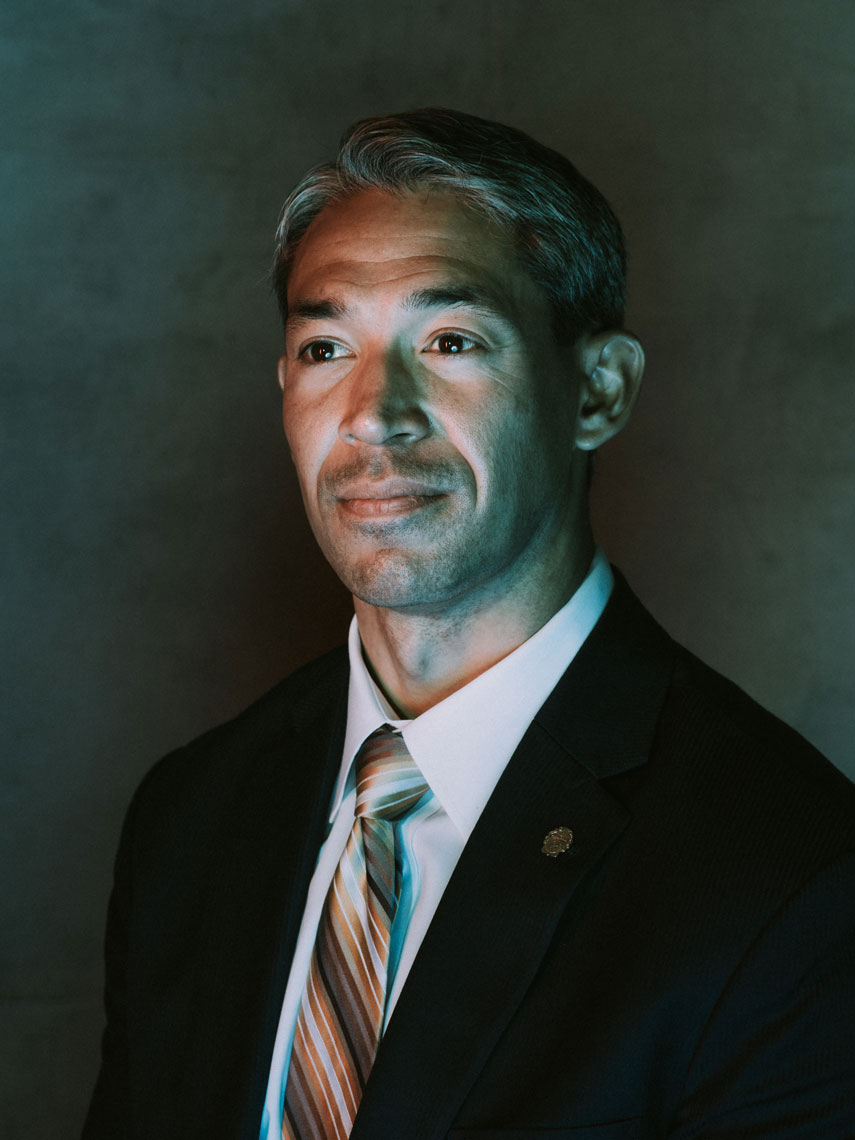 San Antonio Councilman, Ron Nirenberg photographed before the Mayoral Election in San Antonio, Texas by editorial photographer Josh Huskin