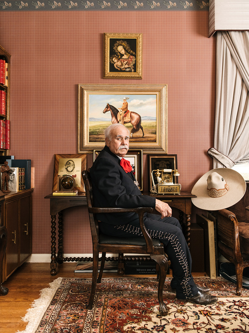 Dr. Raul Gaona photographed at his home in San Antonio, TX by Josh Huskin.