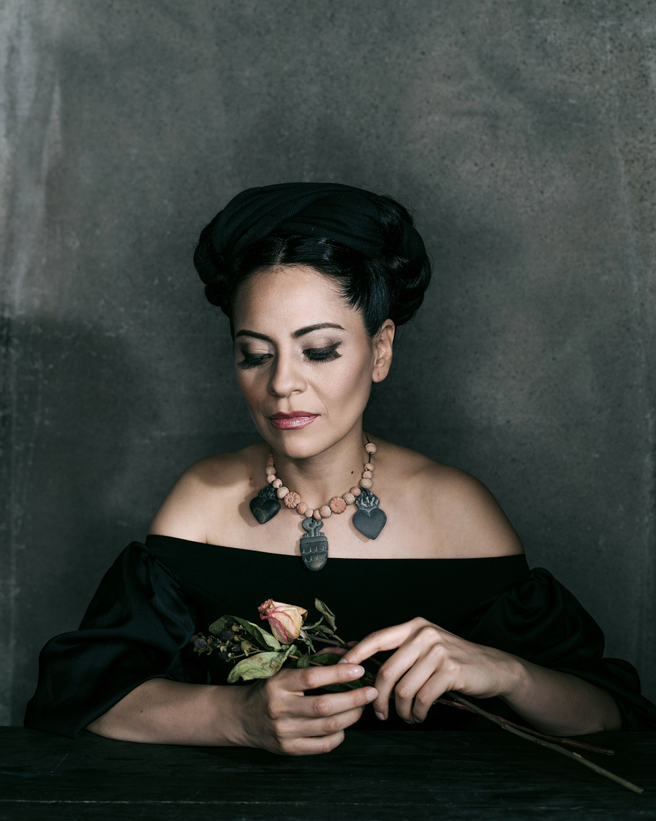 Azul Barrientos, san antonio musician, photographed by advertising photographer Josh Huskin.