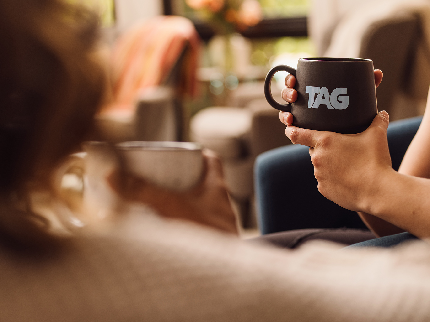 TAG Coffee campaign photographed by advertising and creative lifestyle photographer, Josh Huskin.