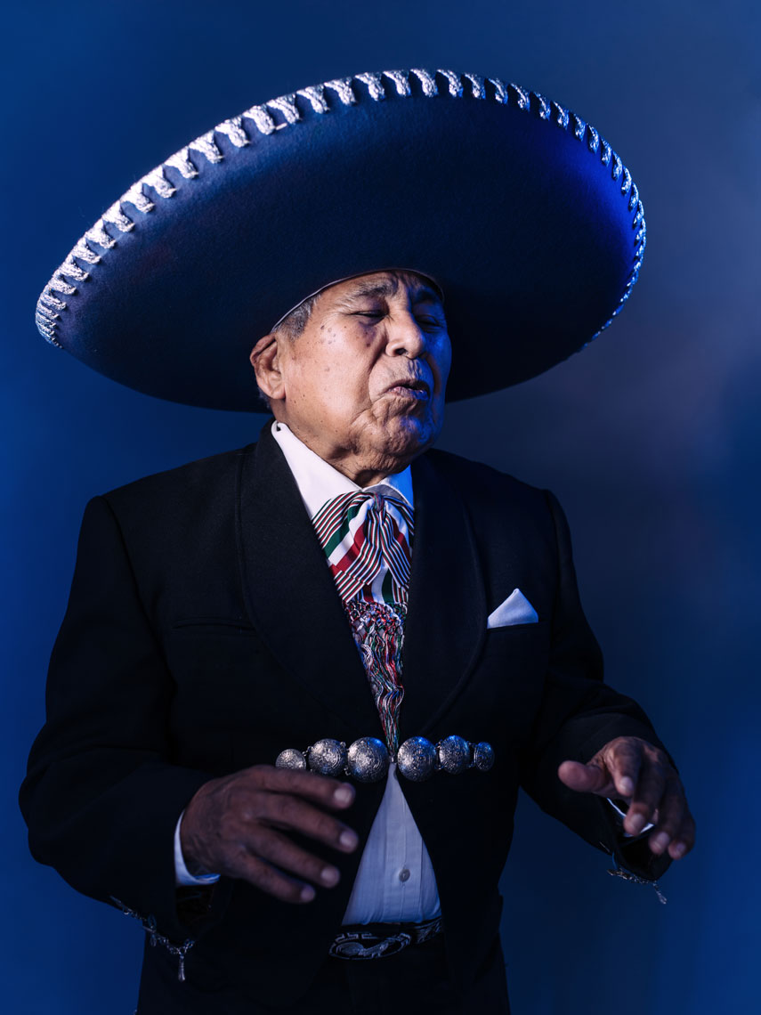 Bocho Rodriguez photographed by advertising photographer Josh Huskin in Texas